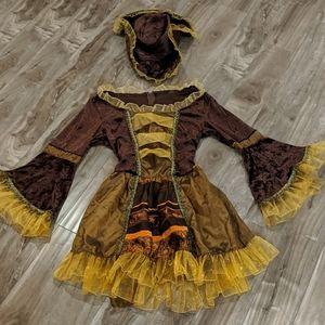 ❄️ 3/$25 Pirate Halloween Costume EUC
